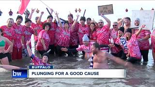 Plunging for a good cause - Video