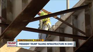 President Trump to promote infrastructure plan in Richfield, Ohio - Video