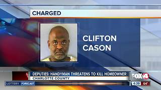 Charlotte Co. Handyman accused of robbing homeowner - Video