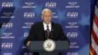 Vice President Pence remarks on plans for the year ahead - Video