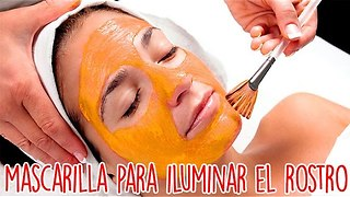 Mascarilla Para Iluminar El Rostro - Video