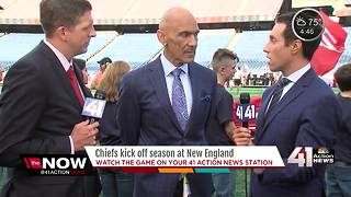 Tony Dungy talks Chiefs vs. Patriots game - Video