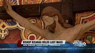 Gerald Kicanas retires as bishop in Tucson - Video