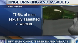 Study finds drinking locations linked to sexual assault - Video