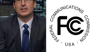 John Oliver Crashes The FCC Website. Again. - Video