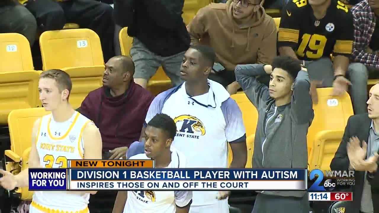 Division 1 basketball player with autism inspires many