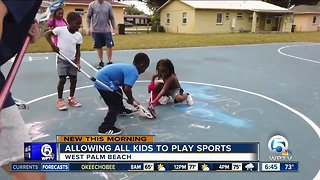 West Palm Beach program helping expose children to sports