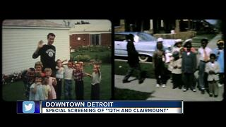 Special screening of 12th and Clairmount at Campus Martius Park - Video