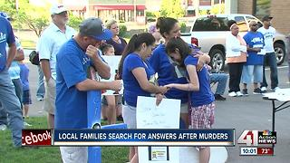 Families come together demanding justice for unsolved murder victims - Video