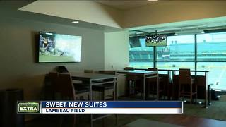 Take a look inside Lambeau Field's new suites - Video