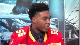 TURKEY BOWL PREVIEW: Calvert Hall's Reginald Sutton - Video