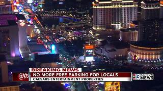Caesars to begin charging for parking - Video