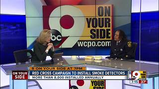 Red Cross campaign to install smoke detectors - Video
