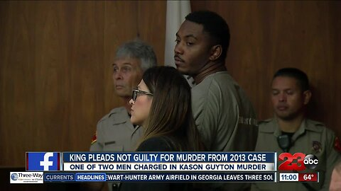 Jeremy King Pleads Not Guilty for Murder from 2013 Case