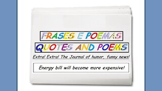 Funny news: Energy bill will become more expensive! [Quotes and Poems]