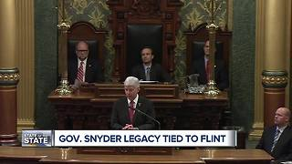 Michigan Governor Rick Snyder to give his final state of state speech - Video