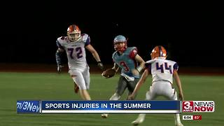 Staying ahead of summer sports injuries