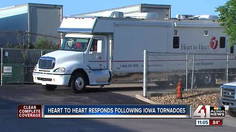 Heart to Heart sending mobile medical unit after Iowa tornados