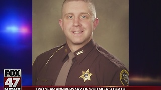 Two year anniversary of Deputy Whitaker's death - Video