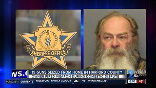 19 guns seized from home in Harford County