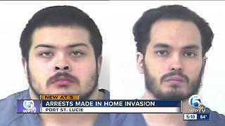 2 arrested in Port St. Lucie home invasion - Video