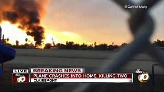 Neighborhood in shock after plane crash - Video