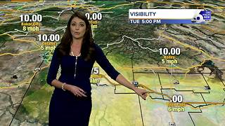 Karen Lehr's On Your Side Forecast: Tuesday, December 12, 2017 - Video