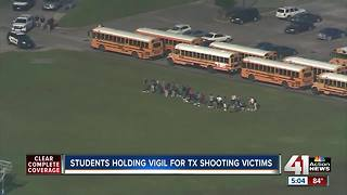 Local students rally to remember victims of school shootings - Video