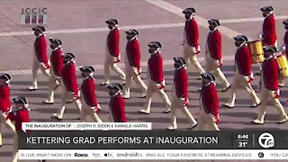 Waterford Kettering Grad Performs At Inauguration