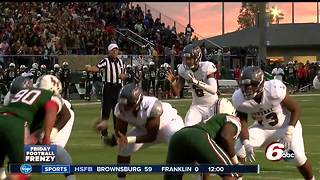 HIGHLIGHTS: Lawrence Central 26, Lawrence North 21 - Video