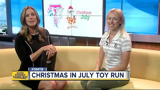 It's time to batter up for Christmas in July Toy Run - Video