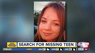 Deputies search for missing 13-year-old girl in Pasco County
