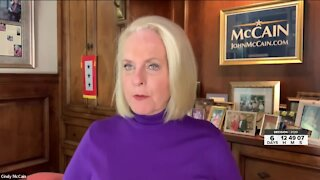 Cindy McCain shares why she is supporting Joe Biden during the 2020 election