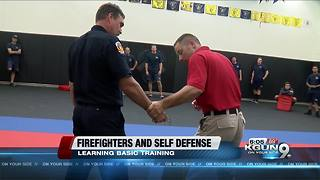Tucson firefighters learning self defense