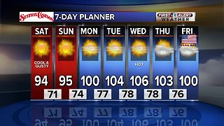 13 First Alert Las Vegas Weather June 8 Morning