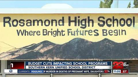 School district in Rosamond makes cuts to recover from $2 million deficit