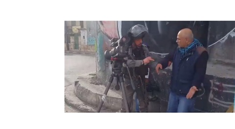 Israeli Soldiers Detain Journalist Covering Protests in Bethlehem