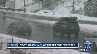 An icy drive through the Colorado mountains this weekend - Video