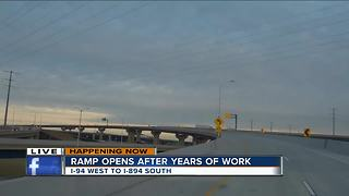 Zoo Interchange reopens ramp after years of construction - Video