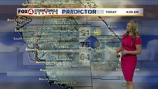 Warmer Through Wednesday, Cold Front on the Way - Video