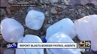 New report claims border agents destroyed resources meant for immigrants - Video