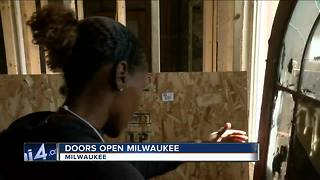 Former funeral home on display during Doors Open Milwaukee