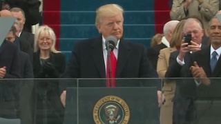 FULL SPEECH: Donald Trump makes first remarks as President of the United States - Video