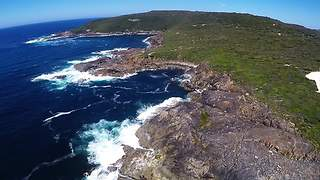 Drone captures the best of Great Southern in Australia - Video