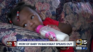 Valley mom, whose toddler was in vehicle during deadly shooting, speaks out