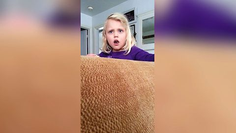 Kid Learns Shocking Truth About The Color Pink
