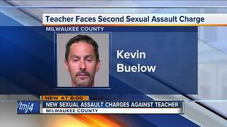 More charges brought against Milwaukee teacher accused of sexual assault