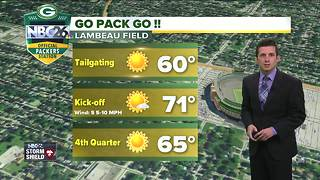 Perfect football weather for Sunday - Video