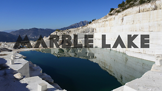 Marble lake - Prilep, Macedonia - Video