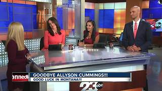 Goodbye Allyson Cummings! - Video
